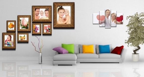 Полиптих картина из более чем пяти частей