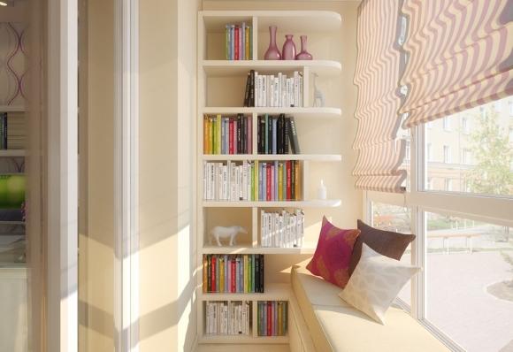 Библиотека на лоджии