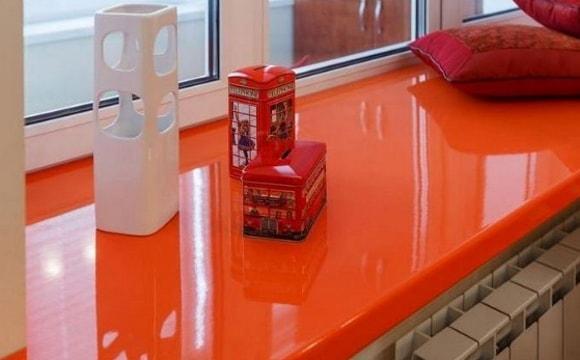 Чем покрасить пластиковый подоконник-пвх