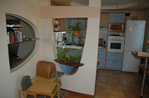 Перегородка для кухни из гипсокартона