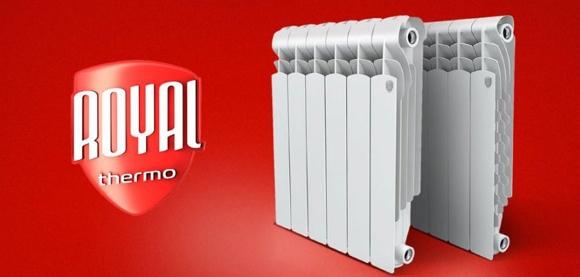 Дизайнерский пример радиаторов от компании Royal