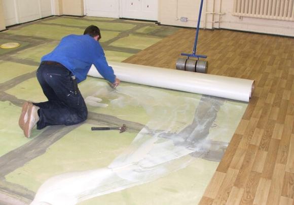 Линолеум на вспененной основе на бетонный пол