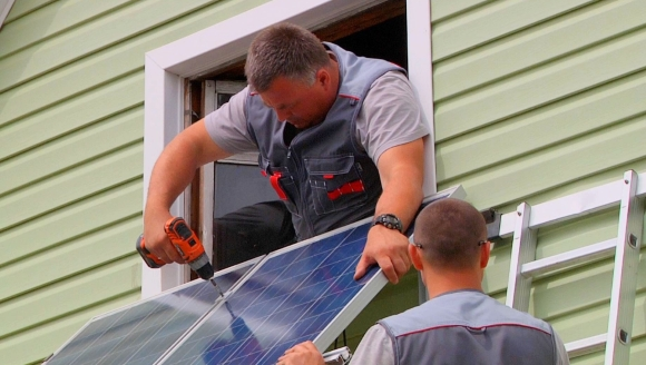 Монтаж солнечной батареи своими руками