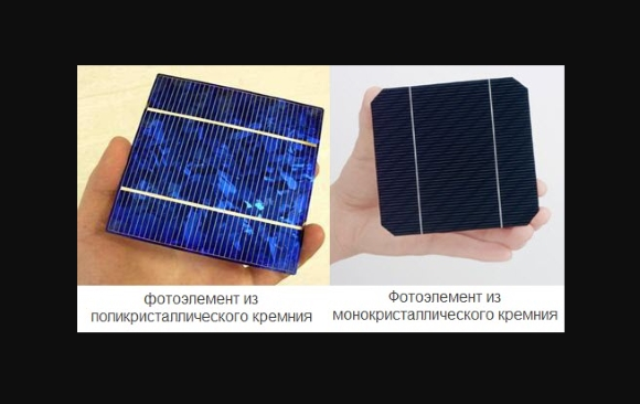 Выбор фотоэлементов для солнечной батареи