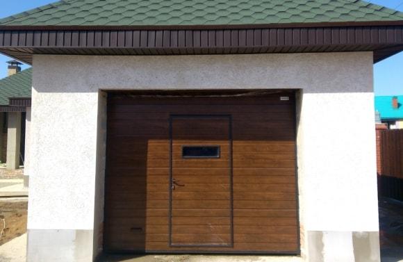 Рольставни с электроприводом – откатные ворота с калиткой внутри