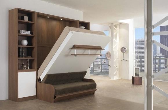 Модульная мебель-трансформер для гостиной комнаты