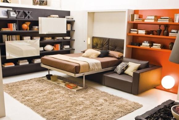 Модульная мебель-трансформер для гостиной