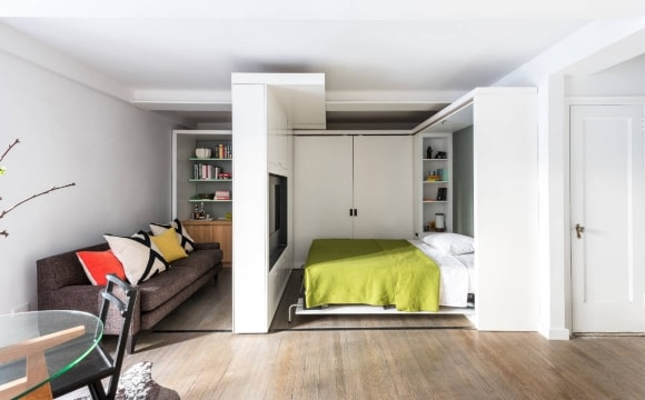 Современная модульная мебель-трансформер для гостиной