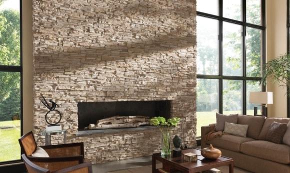 Декоративная плитка под камень на стену