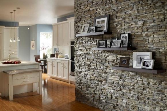 Декоративные панели под камень для внутренней отделки фото