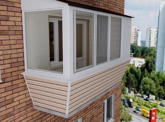 Фото остекления балконов и лоджий