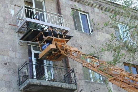 Капитальный ремонт балконов и лоджий