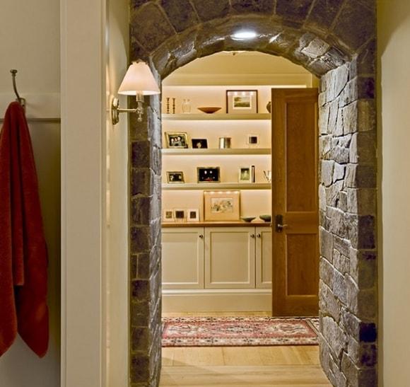 Отделка арок искусственным камнем в квартире своими руками фото
