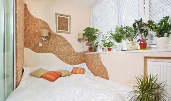 Спальные места на балконе и лоджии
