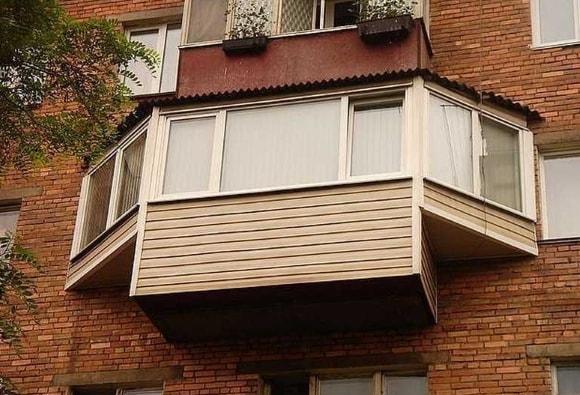 Застекленные балконы и лоджии фото
