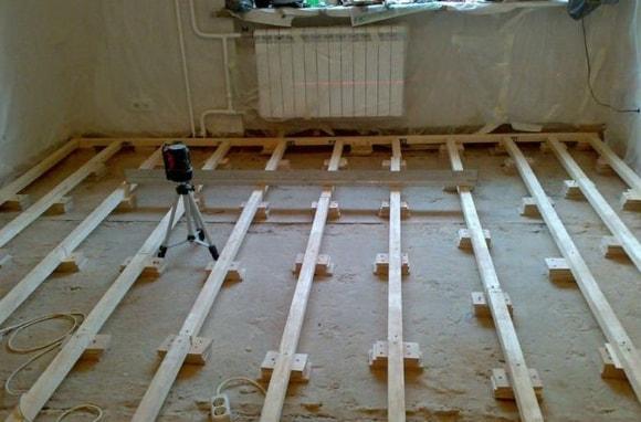 Капитальный ремонт пола - пошаговая инструкция