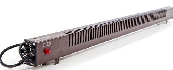 Широкий напольный электрический теплый плинтус