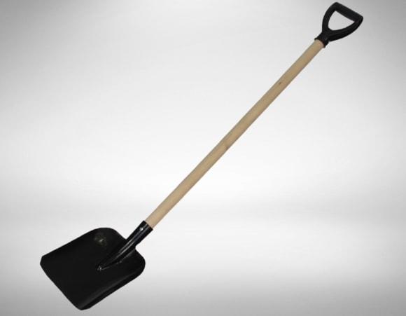 Совковая лопата для разравнивания и распределения сухого наполнителя