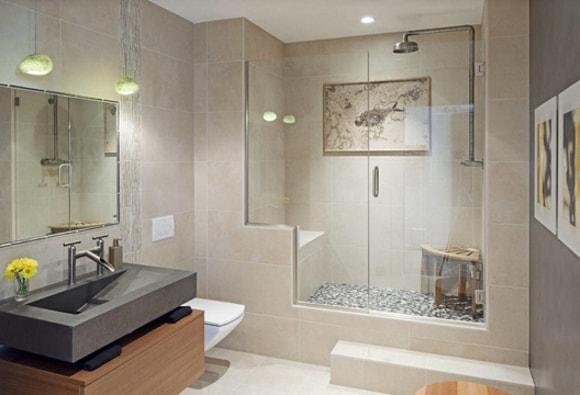 Душевая с туалетом без ванны