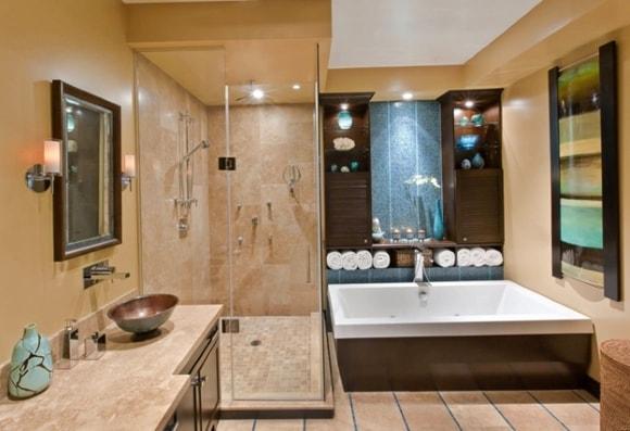 Крупная ванная