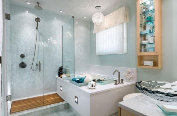 Примеры дизайна ванных комнат различной квадратуры