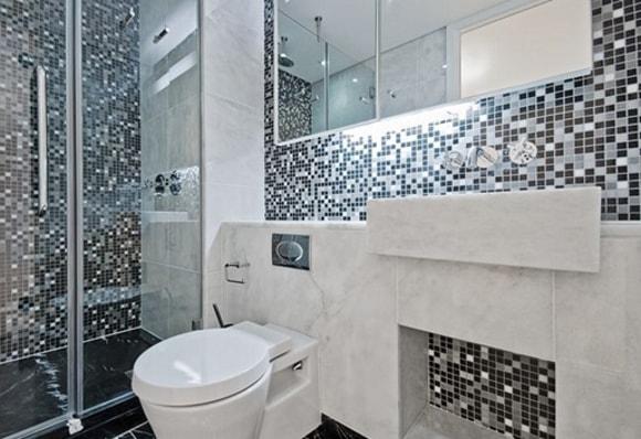 Разновидности отделки ванной комнаты плиткой