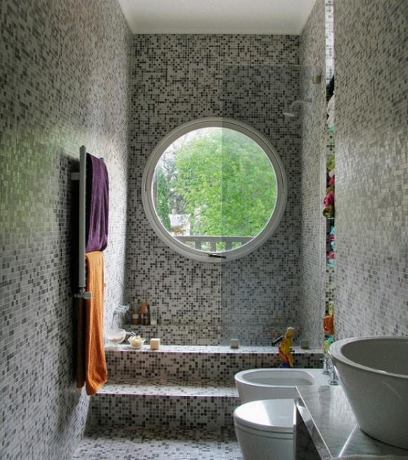 Узенькая ванная комната