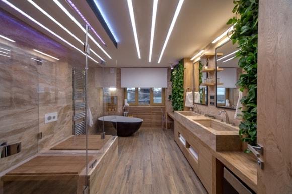 Ванная комната 10 кв. метра
