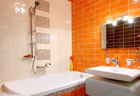 Ванная комната квадратной формы