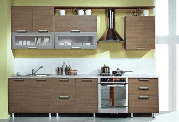 Дизайн очень маленькой кухни эконом-класса