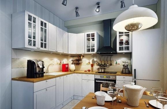 Дизайн освещения на кухне