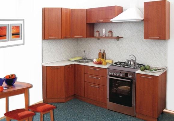 Кухня эконом-класса маленького размера