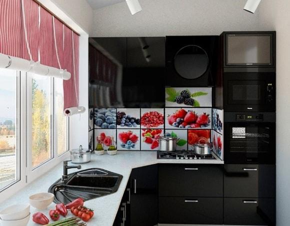 Кухня на балконе/лоджии