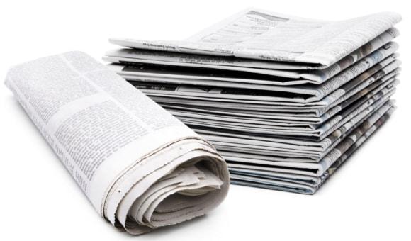 Газеты для изготовления жидких обоев