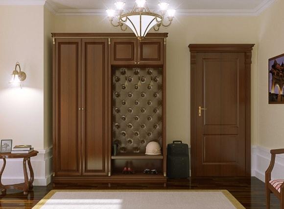 Классическая прихожка в коридоре