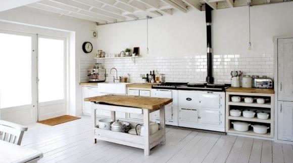 Столешница на кухне в стиле лофт