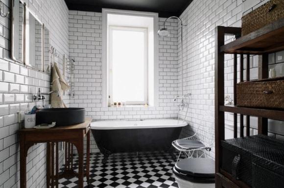 Ванная и туалет в стиле лофт