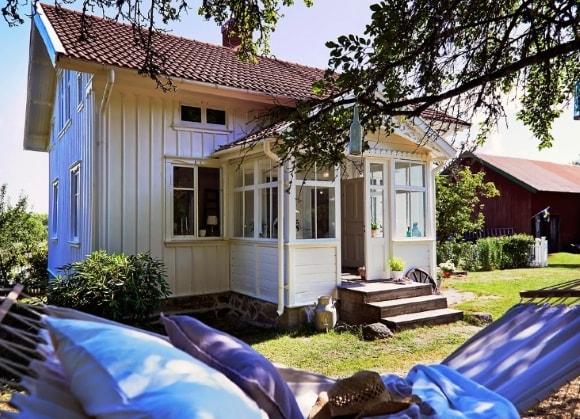 Дачный домик в скандинавском стиле