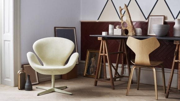 Кресла-ковши скандинавского стиля