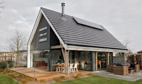 Крыша в скандинавском стиле