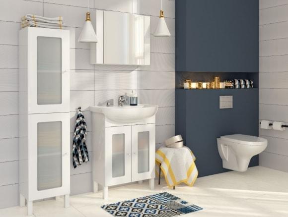 Меблирование ванной в скандинавском стиле