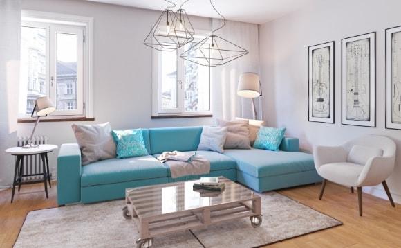 Мягкая мебель в скандинавском стиле