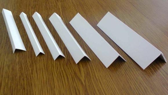 Пластиковые уголки для закрытия торцов ламината