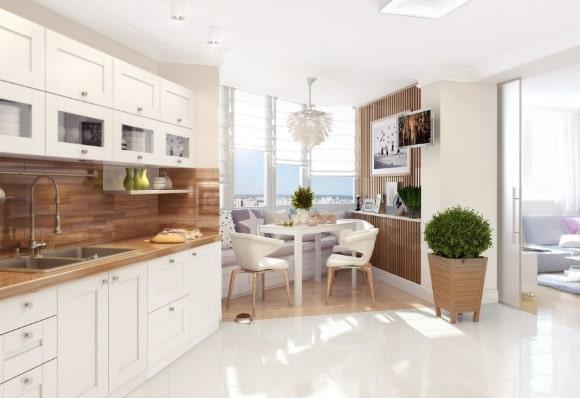 Скандинавская кухонная мебель