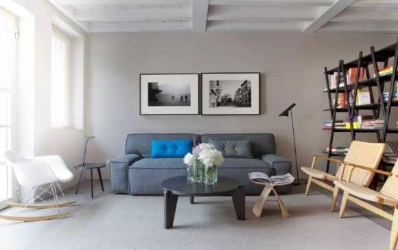 Скандинавская мягкая мебель