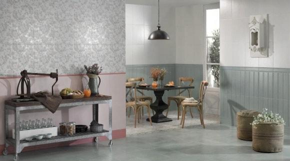 Кухонная керамика в стиле прованс