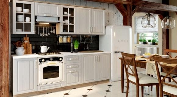 Кухонные фасады в стиле прованс