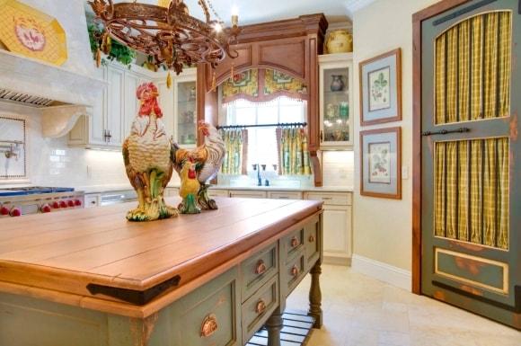 Кухонные картины в стиле прованс