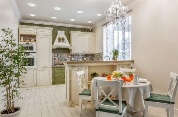 Кухонные светильники в стиле прованс