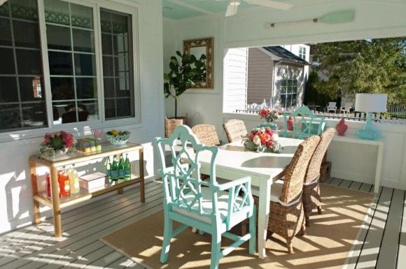 Летняя кухня в стиле прованс